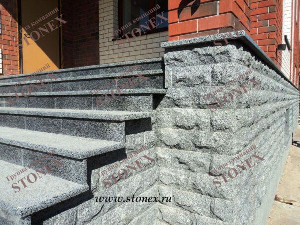 Облицовка лестниц гранитом 3