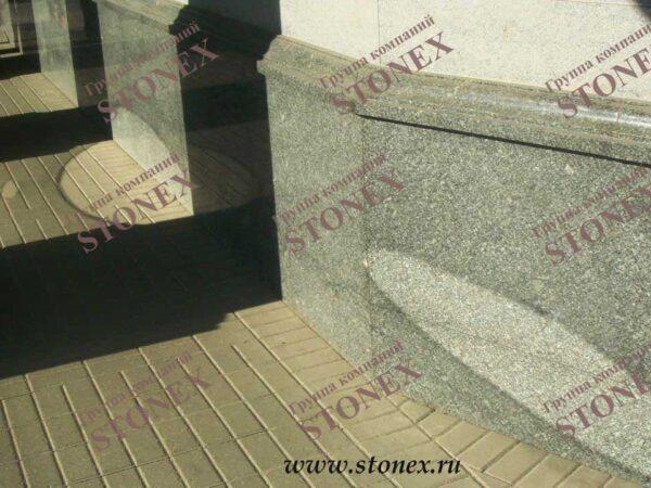 Облицовка лестниц гранитом 33